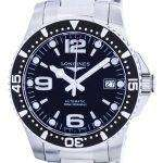 Longines Hydroconquest Sport Automatic Power Reserve L3.641.4.56.6 Mens Watch