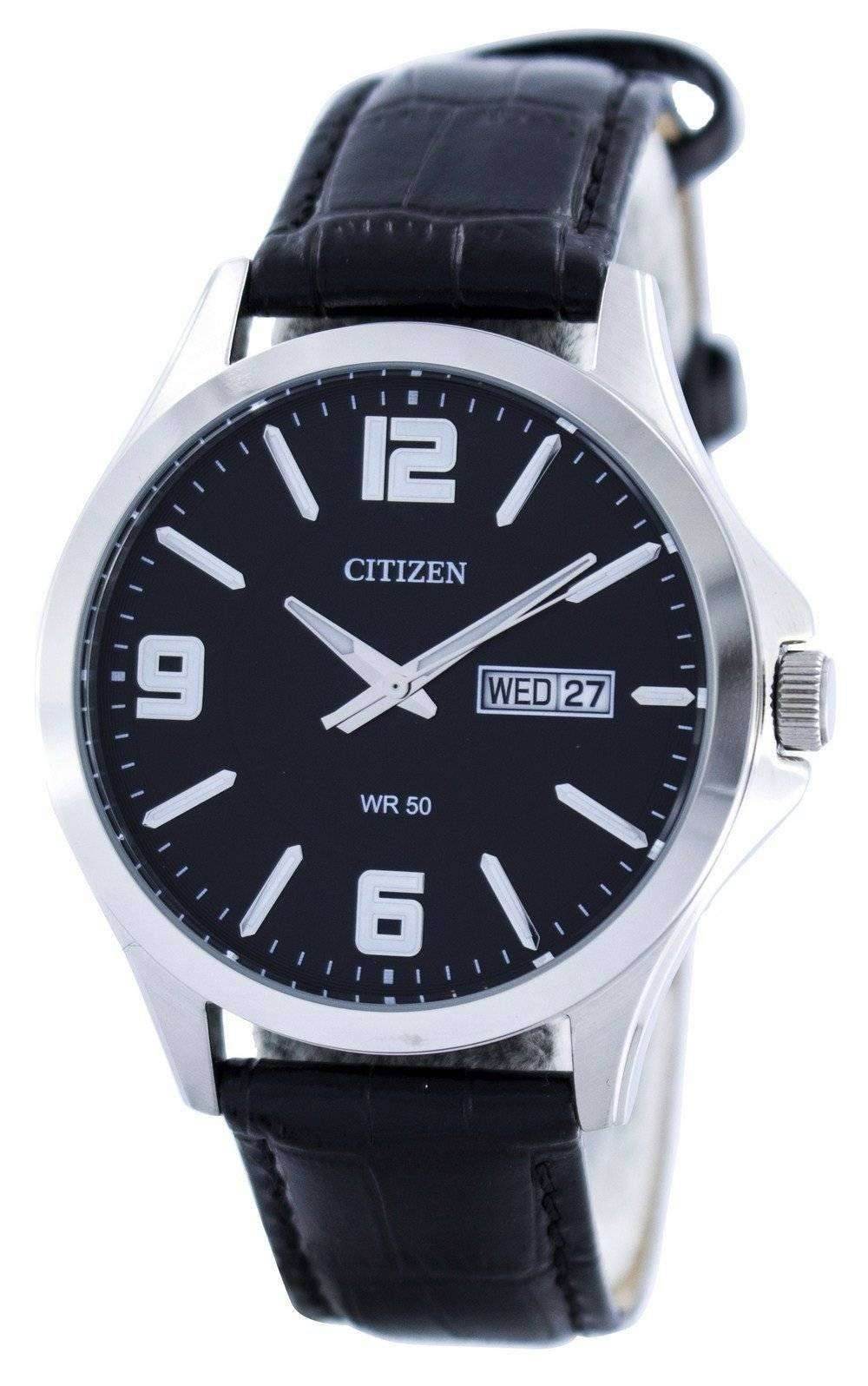 Citizen Quartz Black Dial BF2001-04E Mens Watch - DownUnderWatches