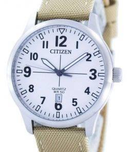Citizen Quartz White Dial BI1050-05A Mens Watch