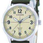 Citizen Quartz Champagne Dial BI1050-05X Mens Watch