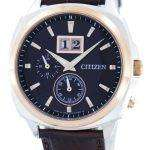 Citizen Eco-Drive Perpetual Calendar BT0084-07E Mens Watch