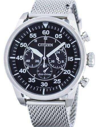 Citizen Eco-Drive Chronograph Power Reserve CA4210-59E Mens Watch