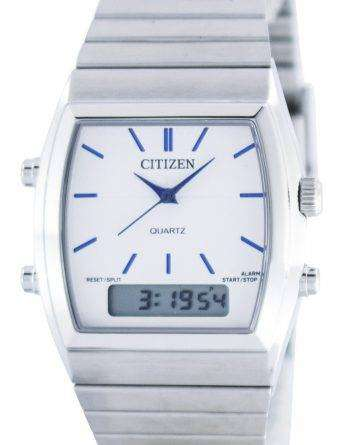 Citizen Quartz Alarm Chronograph Analog Digital JM0540-51A Mens Watch