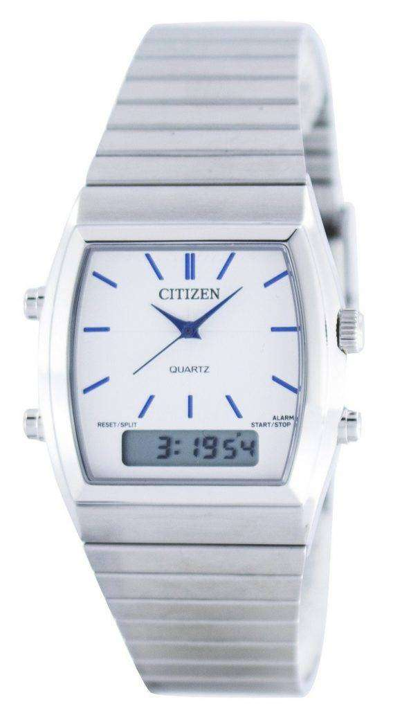 Citizen Quartz Alarm Chronograph Analog Digital JM0540-51A Mens Watch 1