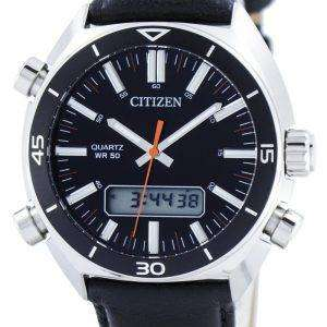 Citizen Quartz Alarm Chronograph Analog Digital JM5460-01E Mens Watch