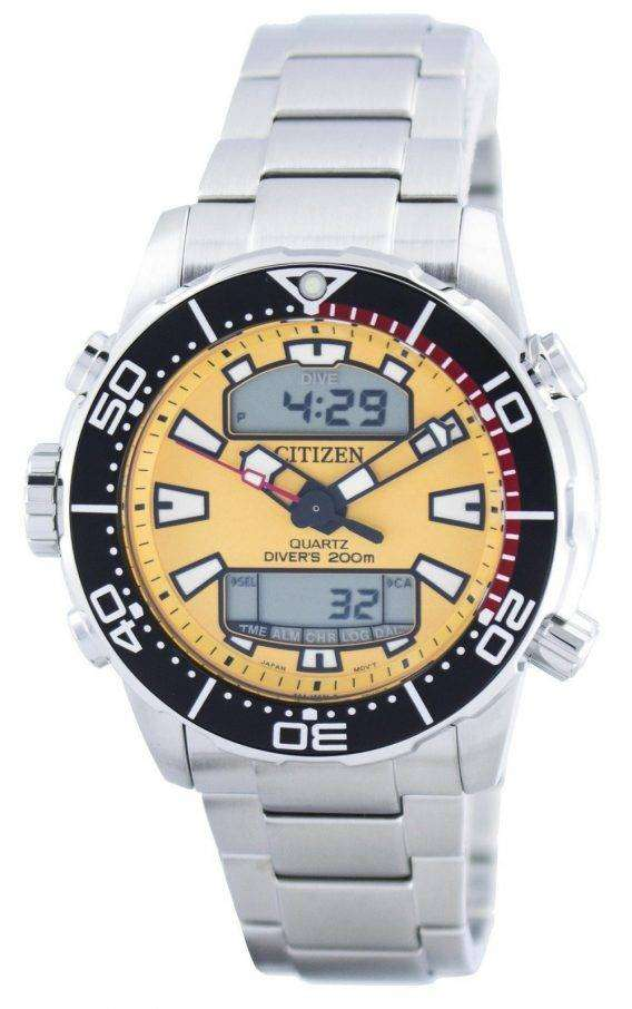 Citizen Aqualand Promaster Divers 200M Analog Digital JP1090-86X Mens Watch 1