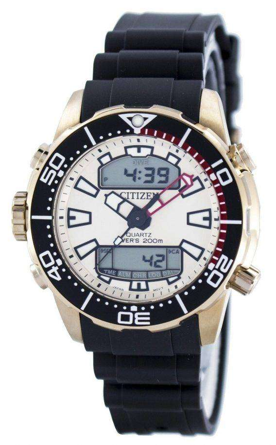 Citizen Aqualand Promaster Divers 200M Analog Digital JP1093-11P Mens Watch 1