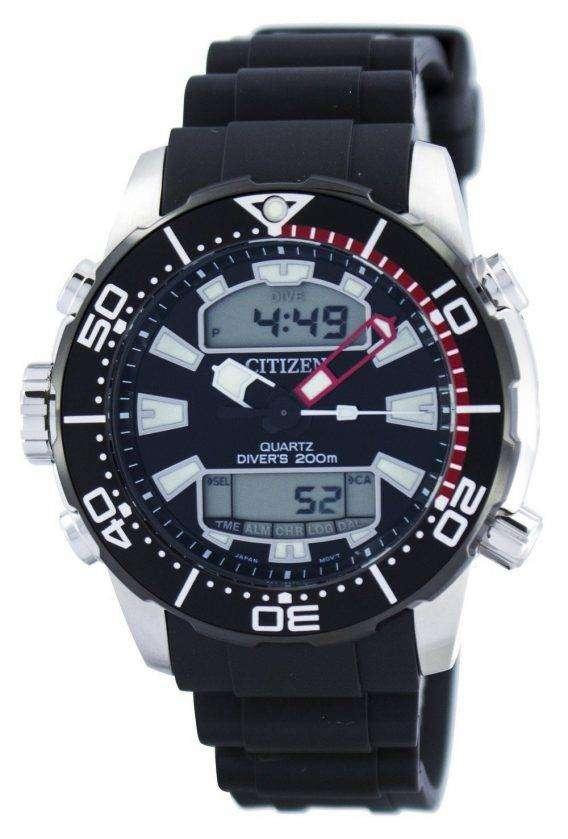 Citizen Aqualand Promaster Divers 200M Analog Digital JP1098-17E Mens Watch