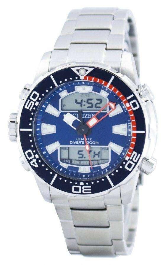 Citizen Aqualand Promaster Divers 200M Analog Digital JP1099-81L Mens Watch 1