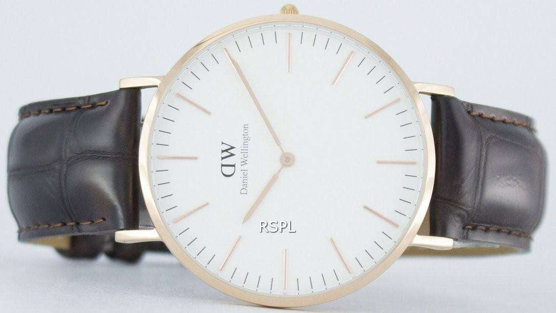 Classic Daniel Wellington York Quartz Watch Dw001000110111dwMens sdxtQhrC
