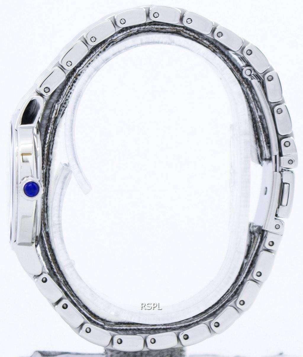 Seiko Quartz Swarovski Crystals SFQ805 SFQ805P1 SFQ805P Women's Watch