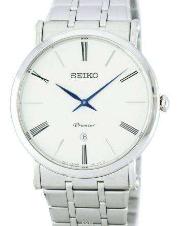 Seiko Premier Quartz SKP391 SKP391P1 SKP391P Men's Watch