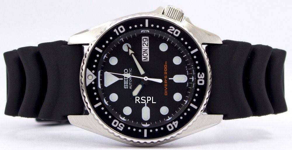 seiko mid size divers 200m automatic watch skx013k1 downunderwatches