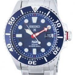 Seiko Prospex PADI Special Edition Solar Diver's 200M SNE435 SNE435P1 SNE435P Men's Watch