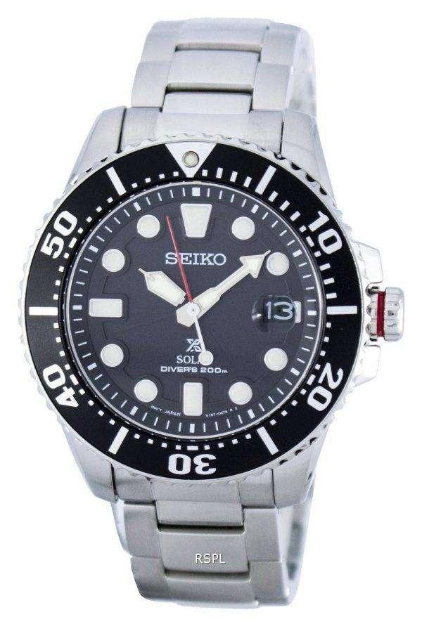 Seiko Prospex Solar Diver's 200M SNE437 SNE437P1 SNE437P Men's Watch 1