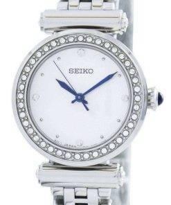 Seiko Quartz 44 Swarovski Crystals SRZ465 SRZ465P1 SRZ465P Women's Watch