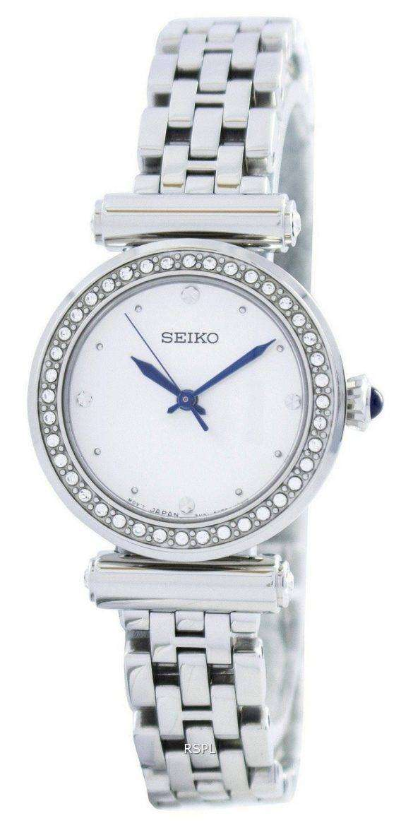 Seiko Quartz 44 Swarovski Crystals SRZ465 SRZ465P1 SRZ465P Women's Watch 1