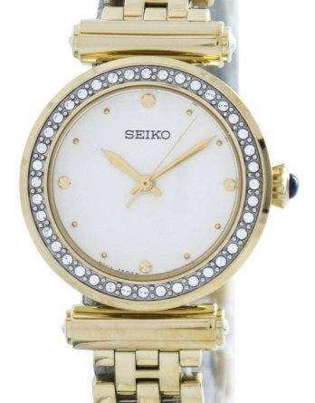 Seiko Quartz 44 Swarovski Crystals SRZ468 SRZ468P1 SRZ468P Women's Watch