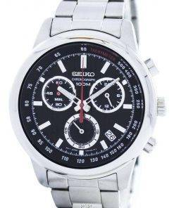 Seiko Sports Chronograph Quartz Tachymeter SSB205 SSB205P1 SSB205P Men's Watch