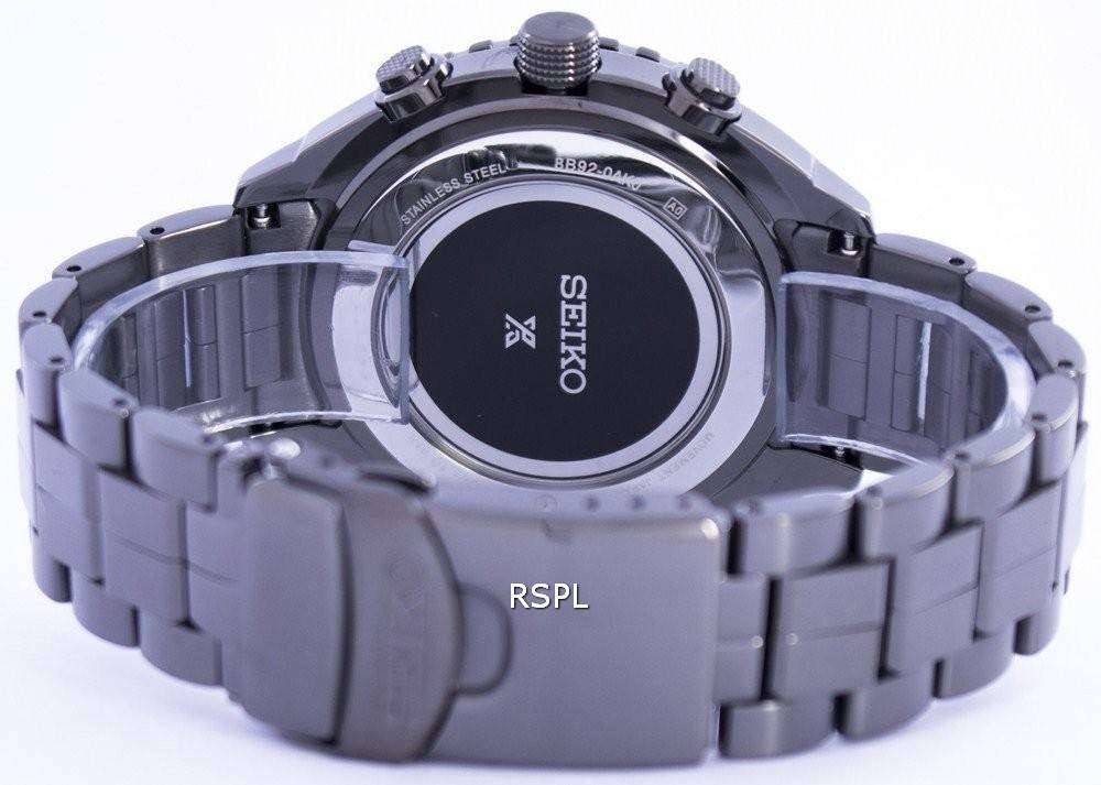 59b990de9 Seiko Prospex Sky Radio Sync Solar World Time Chronograph SSG003 SSG003P1  SSG003P Men's Watch