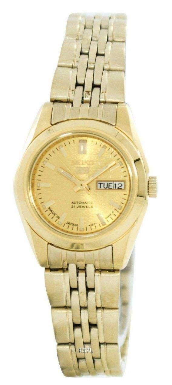 Seiko 5 Automatic 21 Jewels Made In Japan SYMA38 SYMA38J1 SYMA38J Women's Watch 1