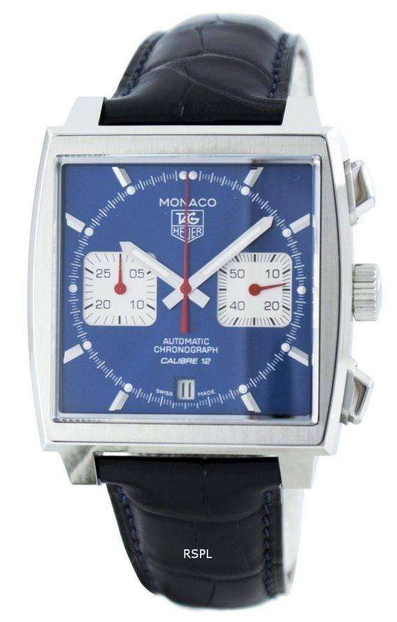 Tag Heuer Monaco Automatic Chrongraph Calibre 12 Swiss Made CAW2111