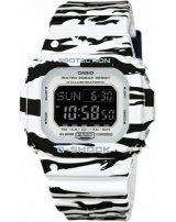 Casio G-Shock Digital Alarm Chrono Tiger Camouflage DW-D5600BW-7 Men's Watch