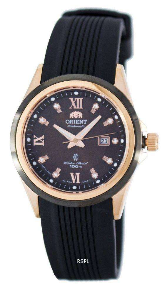 Orient Gem Automatic Power Reserve Crystal Accent FNR1V001T0 Women's Watch 1