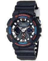Casio G-Shock Analog Digital World Time Alarm GA-120TR-1A Men's Watch