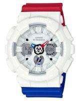 Casio G-Shock Analog Digital World Time Alarm GA-120TRM-7A Men's Watch