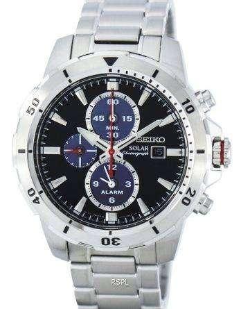 Seiko Solar Chronograph Alarm SSC557 SSC557P1 SSC557P Men's Watch