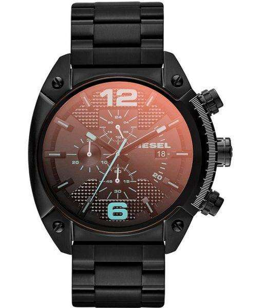 diesel mega chief quartz chronograph dz4316 men 39 s watch. Black Bedroom Furniture Sets. Home Design Ideas