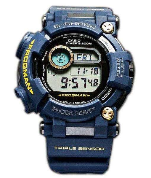 Casio G-Shock FROGMAN Multiband 6 Triple Sensor Divers 200M GWF-D1000NV-2JFMens Watch 1