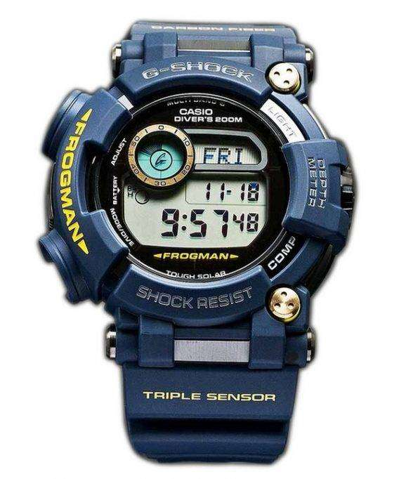 Casio G-Shock FROGMAN Multiband 6 Triple Sensor Divers 200M GWF-D1000NV-2JFMens Watch 1
