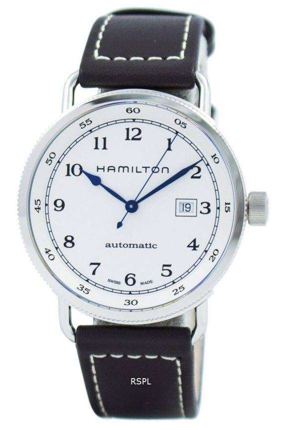Hamilton Khaki Navy Pioneer Automatic H77715553 Men's Watch 1