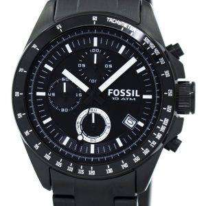 Fossil Chronograph Black Ion-plated CH2601 Mens Watch