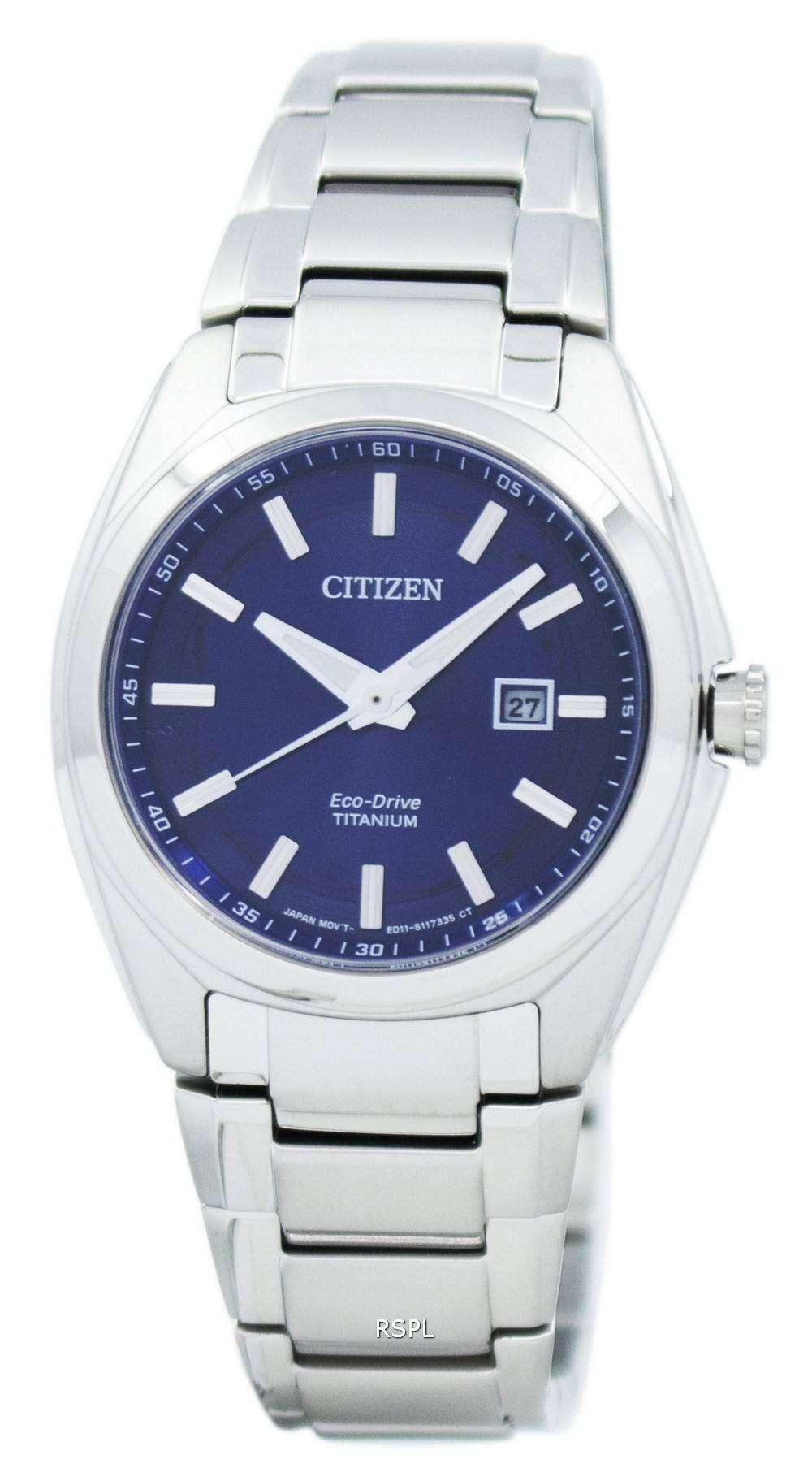 Citizens Of Beauty: Citizen Eco-Drive Titanium EW2210-53L Women's Watch
