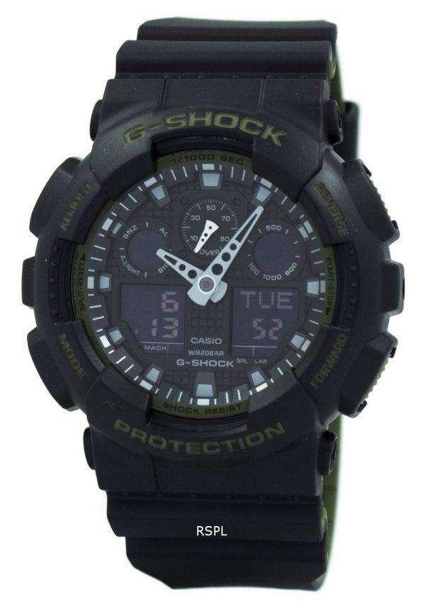 casio g shock analog digital 200m ga 100l 1a men 39 s watch downunderwatches. Black Bedroom Furniture Sets. Home Design Ideas