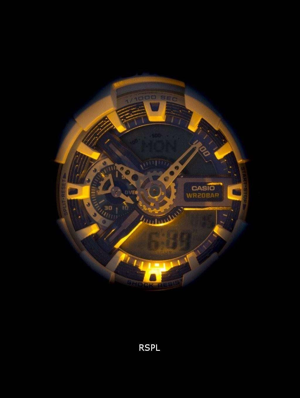 casio g shock analog digital 200m ga 110wb 7a men 39 s watch downunderwatches. Black Bedroom Furniture Sets. Home Design Ideas