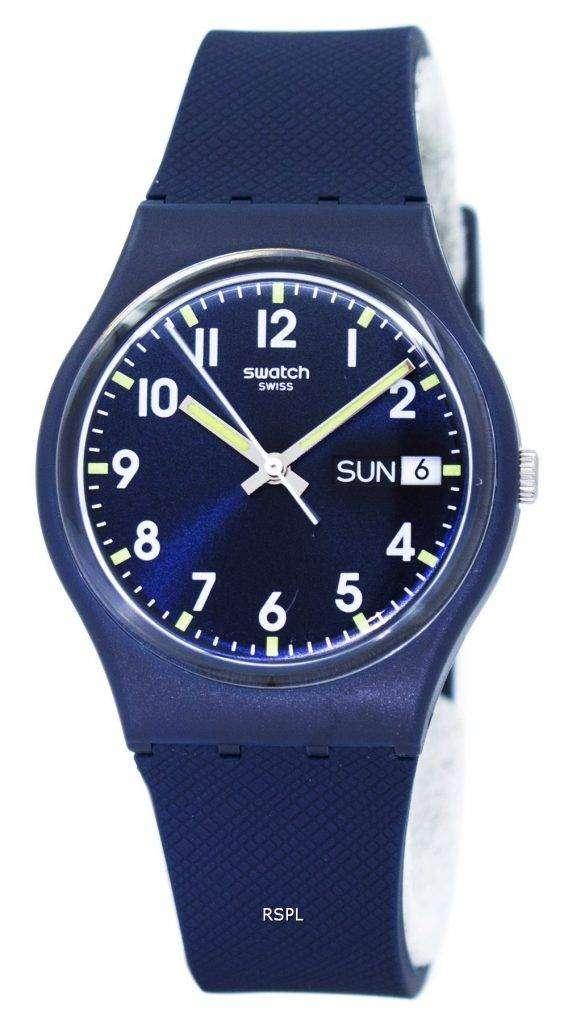 Swatch Originals Sir Blue Quartz GN718 Unisex Watch 1