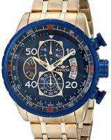 Invicta Aviator Quartz Chronograph Tachymeter Compass 19173 Men's Watch