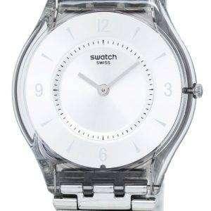 Swatch Skin Metal Knit Quartz SFM118M Women's Watch