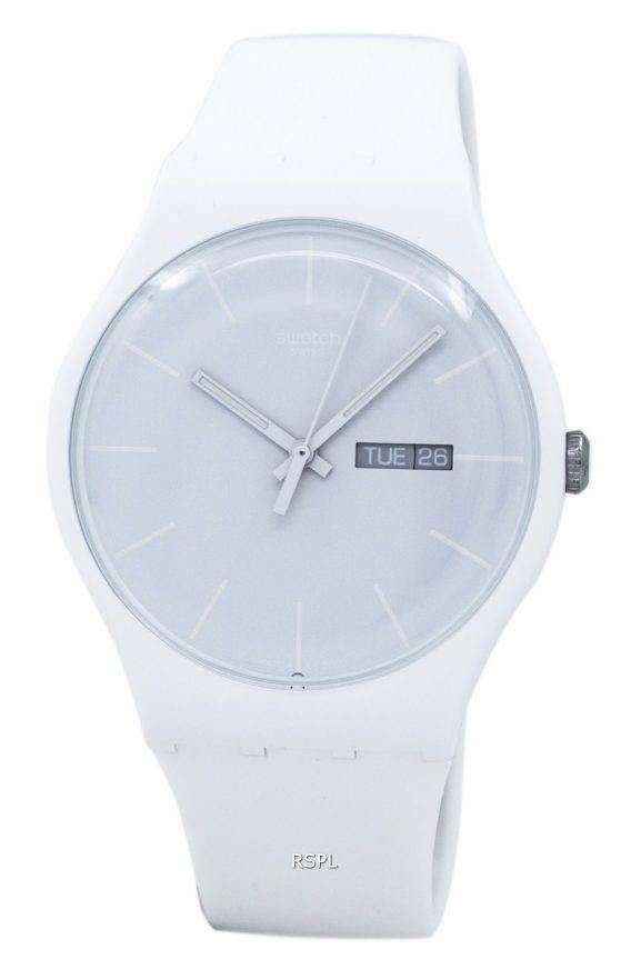 Swatch Originals White Rebel Quartz SUOW701 Unisex Watch 1