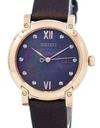 Seiko Quartz Crystals SXDG88 SXDG88P1 SXDG88P Women's Watch