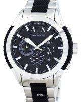 Armani Exchange Chronograph Black Dial AX1214 Mens Watch