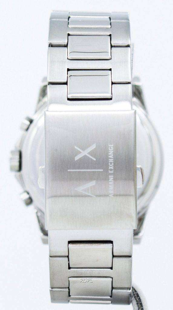 Armani Exchange Chronograph Crystals Grey Dial AX2092 Mens Watch