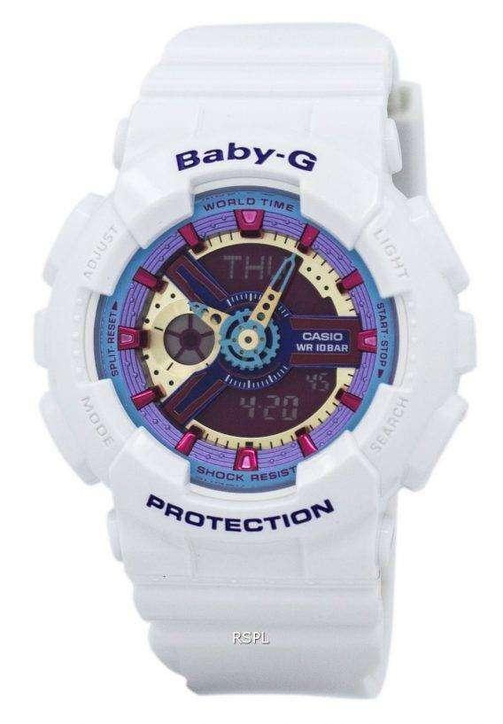 Casio Baby-G Analog Digital Multi-Color Dial BA-112-7A Womens Watch 1