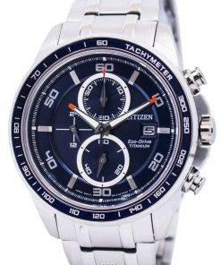 Citizen Ecodrive Titanium Chronograph CA0345-51L Mens Watch