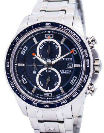 Citizen Ecodrive Titanium Chronograph CA0345-51L Mens Watch