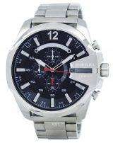 Diesel Mega Chief Quartz Chronograph Black Dial DZ4308 Mens Watch